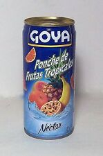Goya Tropical Fruit Nectar Juice Puerto Rico Refresco Drink Beverage Food12latas