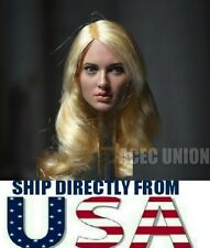 Emily Browning Sucker Punch 1/6 Head Sculpt For Hot Toys Phicen - U.S.A. SELLER
