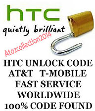 HTC Unlock Code network unlock PIN for T-Mobile HTC myTouch 4G OR 4G SLIDE FAST