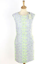 BNWT Paul Smith Womens Neon Geometric Print Dress Size 40 (Uk 8)