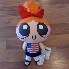 Cartoon Network Powerpuff Girls Blossom Plush w/ American Flag Outfit NEW 2000