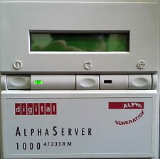 ALPHASERVER 1000 4/233 PB7RD-XA RACK MOUNT SERVER 64MB CD-ROM FLOPPY AND MORE