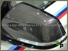 OE Style Carbon Fiber Replacement Mirror Cover For 12-16 BMW F30 F31 3-Series