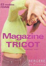 Guide tricot mains BERGERE de FRANCE n° 121 - 23 modèles femme