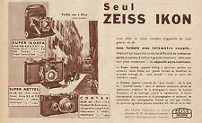 Y7110 ZEISS IKON - Super Ikonta - Pubblicità d'epoca - 1935 Old advertising