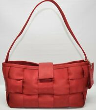 Harvey's The Original Seat Belt Bag Small Flap Satchel Shoulder Bag Red