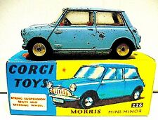 VINTAGE CORGI TOYS MODEL No.226 MORRIS MINI MINOR 'RARE'
