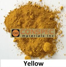 YELLOW Concrete Color Pigment Dye Colorant for Cement Mortar Grout Plaster 1 LB