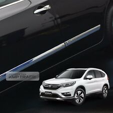 Chrome Side Skirt Door Line Sill Garnish Molding Trim 4P for HONDA 2012-16 CR-V