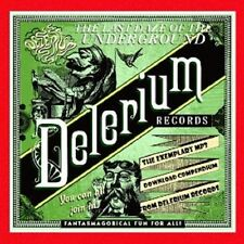 LAST DAZE OF THE UNDERGROUND-DELERIUM 3 CD NEU NUKLI/TANGLE EDGE/DEAD FLOWERS