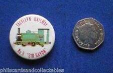 Talyllyn Railway  Pin Badge - No. 3 '' Sir Haydn    1960s/70s