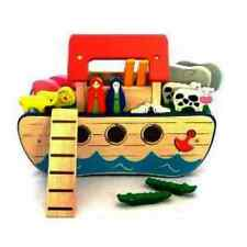 Pintoy Noahs Ark , Imaginative Play Wooden Toy Set, High Quality, New!