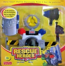 Rescue Heroes Hero Gear Police Barricade Pack Factory Sealed!