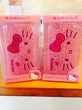 Hello Kitty Bling Bling Pink Phone Case For Iphone 5/5s