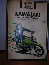 KAWASAKI CLYMER SERVICE MANUAL 250 & 350 cc Motorcycles, 1966 TO 1971 #352  USED