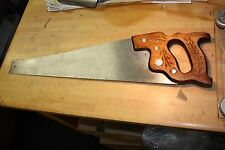 Vintage collectable Disston Panel saw 10 point USA