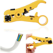 Rotary Coaxial Cable Wire Cutter Stripping Tool RG59 RG6 7 RG11 Strippers Dulcet