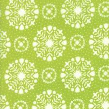 Moda HANDMADE Green 55141 14 Fabric By The Yard By Bonnie & Camille
