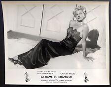 Orson Welles - Rita Hayworth - La Dame de Shanghai - Tirage argentique d'époque
