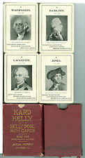 """Game Deck """"Kard Kelly, Kelly Poolw/Cards"""" 1915, United States Playing Card Co"""
