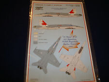 CANADIAN 70 YEARS F-18 SPECIAL LIMITED EDITION LEADING EDGE 72.7 DECALS 1:72