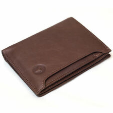 Leather Wallets For Mens Bifold Wallet Credit Card Holder Mini ID Window Purse
