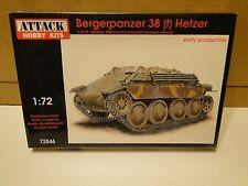 1/72 ATTACK HOBBY BERGERPANZER 38 (T) HETZER MODEL KIT # 72846