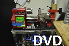 Metal Working Instructional DVD learn how to operate a metal lathe  size7 x 10,