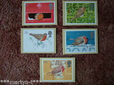 PHQ Stamp card set No 175 Christmas 1995. 5 card set.  Mint Condition.