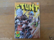 STUNT COMIC DUTCH NO 13,DE GODEN HERLEVEN,GILERA