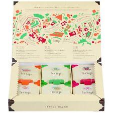 Japanese tea tea bag assortment Gyokuro Sencha Houjicha 3 types 1 box 30bags a31
