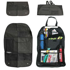 Car Auto Back Seat Organizer Hanging Collector Storage Multi-Pocket Bag Black