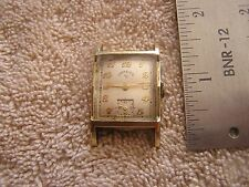 Vintage Lord Elgin Watch 14K  Gold filled 21 jewels 626