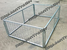 Galvanised Cage 7 x 5 x 3 (2100 x 1540 x 900mm )Trailer Box Tubing Crate New