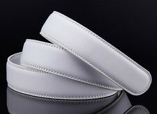6 Colors 3.5CM Genuine Leather Belt For Automatic Buckle Waist Strap Belt