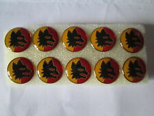 lotto 10 pins lot AS ROMA FC club spilla football calcio badge spille anni 90