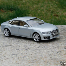 Audi A7 1:32 Cars Model Alloy Diecast Toys Sound & Light Silver Collection&Gifts