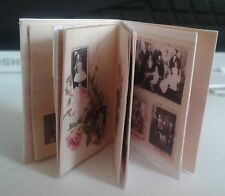 dolls house mini Victorian Photograph Album