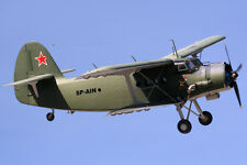 Giant 1/8 Scale Russian Antonov AN-2 Biplane Plans and Templates