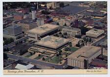 GREENSBORO NC early Town Aerial View Greetings z postcard