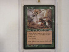 Magic the Gathering 1998 Provoke Autographed by Terese Nielsen