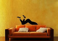 Wall Stickers Vinyl Decal Joke Girl Feet Shoes For Living Room ig1609