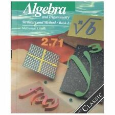 Algebra and Trigonometry: Structure and Method, Book 2 Student Textbook - NEW