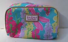 Lilly Pulitzer For Estee Lauder Floral Design Make Up Case Cosmetic Bag New