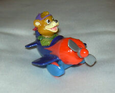 Vintage DISNEY TAILSPIN Flying Airplanes -Kit's Racing Plane Happy Meal Toys