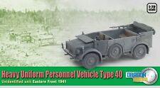 Dragon Armor 1/72 Scale WWII German Heavy Uniform Personnel Vehicle 40 60430