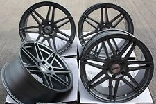 "19"" CALIBRE CCR ALLOY WHEELS GUNMETAL DEEP CONCAVE STAGGERED 19 INCH ALLOYS"