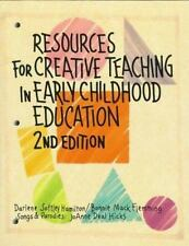 Resources for Creative Teaching in Early Childhood Education, Hamilton, 01557665