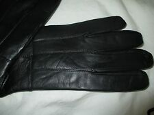 THINSULATE+3M+MENS+BLACK LEATHER+GLOVES SIZE EXTRA LARGE+ EXTRA SOFT LEATHER