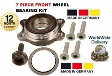 FOR VOLKSWAGEN VW PHAETON 2002   NEW 1 X FRONT WHEEL BEARING KIT + BOLTS